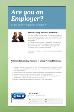 Are you an Employer?