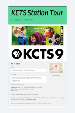 KCTS Station Tour
