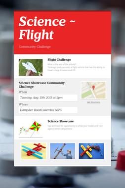 Science ~ Flight