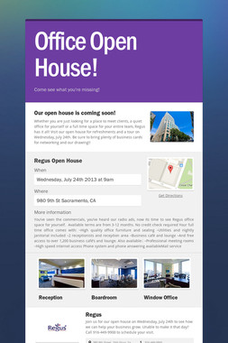 Office Open House!