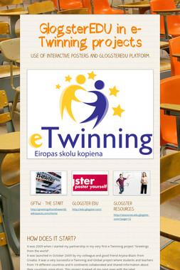 GlogsterEDU in e-Twinning projects
