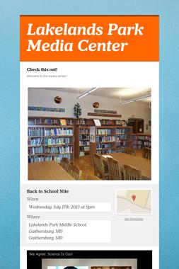 Lakelands Park Media Center