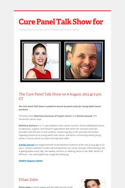 Cure Panel Talk Show for
