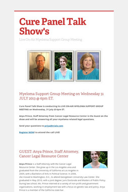 Cure Panel Talk Show's
