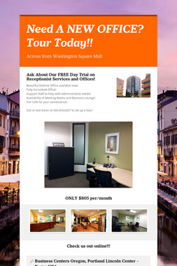 Need A NEW OFFICE? Tour Today!!