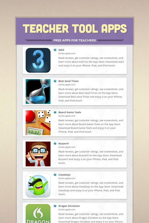 Teacher Tool Apps | Smore Newsletters
