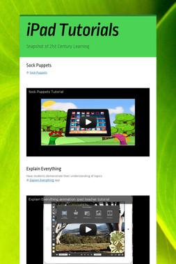 iPad Tutorials