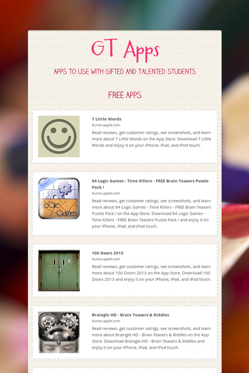 GT Apps | Smore Newsletters