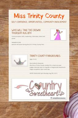 Miss Trinity County