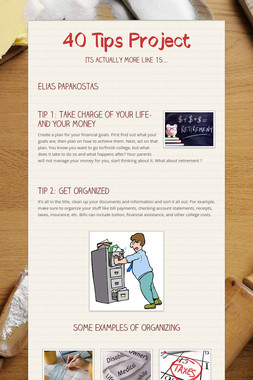 40 Tips Project
