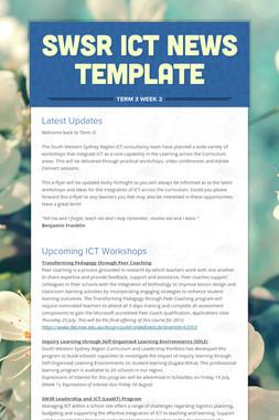SWSR ICT News Template