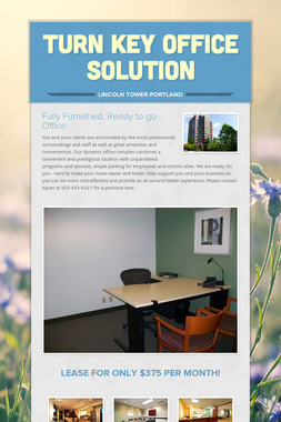 Turn Key Office Solution