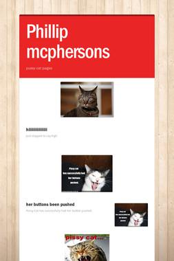 Phillip mcphersons