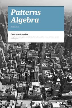 Patterns Algebra