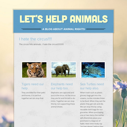 Let's Help Animals