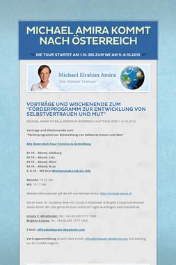 Michael Amira kommt nach Österreich