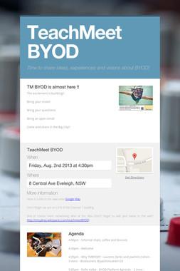 TeachMeet BYOD