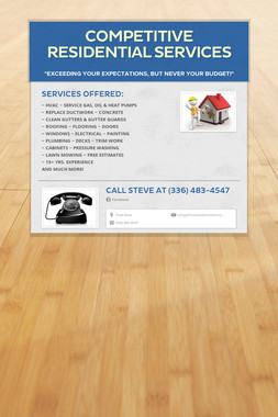 Competitive Residential Services