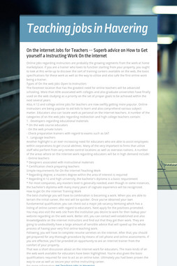 Teaching jobs in Havering