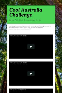 Cool Australia Challenge