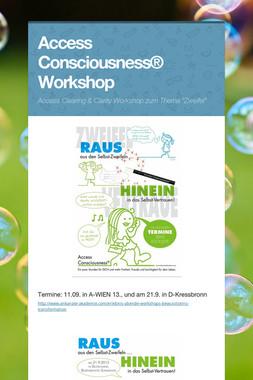 Access Consciousness® Workshop