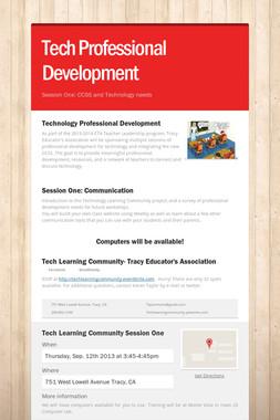 Tech Professional Development