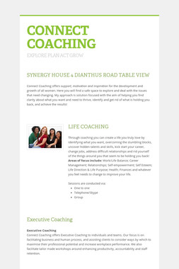 CONNECT COACHING