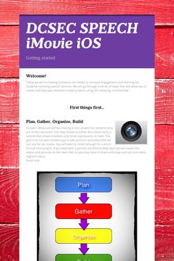 DCSEC SPEECH iMovie iOS