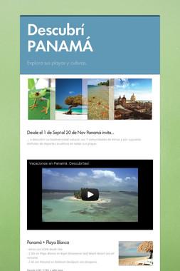 Descubrí PANAMÁ
