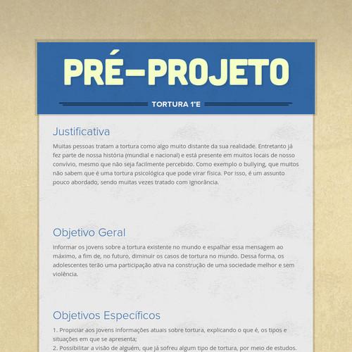 Pré-projeto