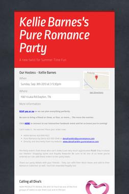 Kellie Barnes's Pure Romance Party