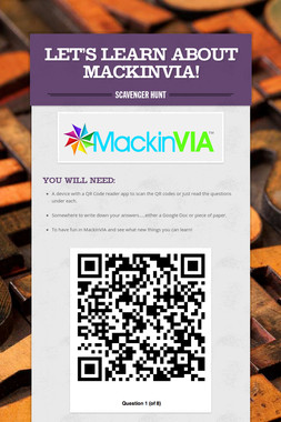 Let's Learn About MackinVIA!