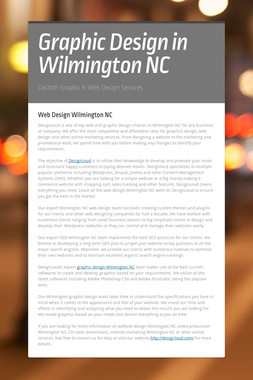 Graphic Design in Wilmington NC