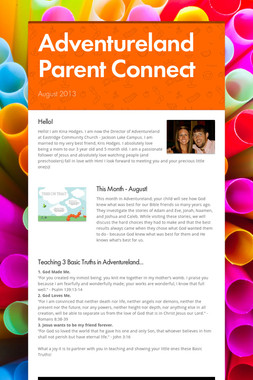 Adventureland Parent Connect