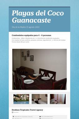 Playas del Coco Guanacaste