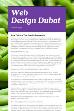 Web DesignDubai