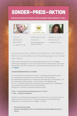 Sonder-Preis-Aktion