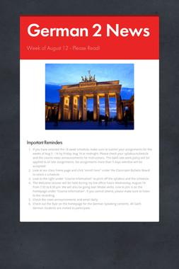 German 2 News