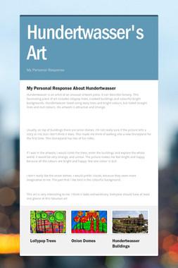 Hundertwasser's Art