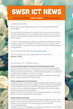 SWSR ICT News