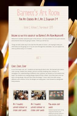 Barnett's Art Room