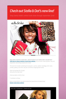 Check out Stella & Dot's new line!