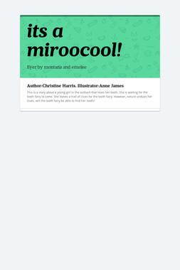 its a miroocool!