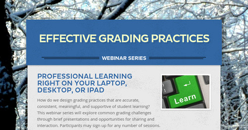 Effective Grading Practices