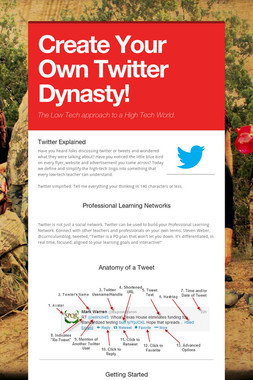 Create Your Own Twitter Dynasty!
