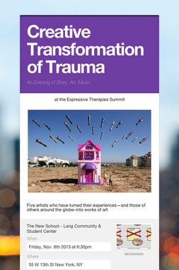 Creative Transformation of Trauma