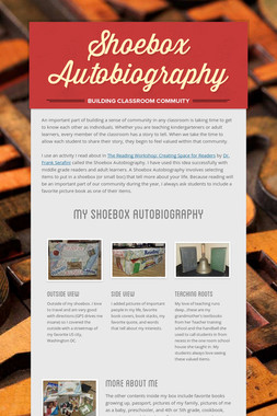 Shoebox Autobiography