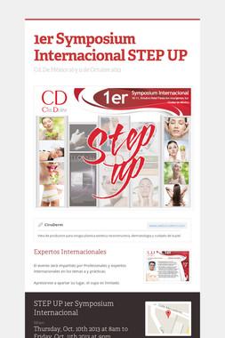 1er Symposium Internacional STEP UP