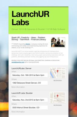 LaunchUR Labs
