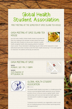 Global Health Student Association